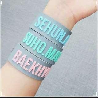EXO Baekhyun Birthday Bracelet
