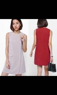 🚚 LB Agosya Asymmetrical Pocket Dress