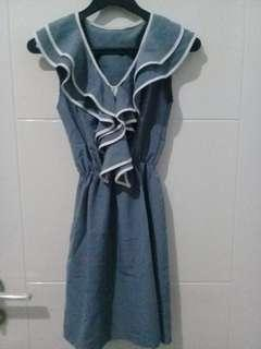 Mini Dress Grey