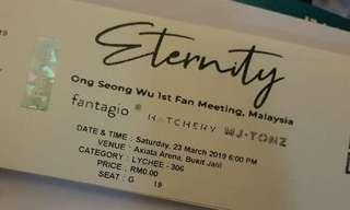 WTS Ong Seong woo Fanmeeting in KL LYCHEE 306