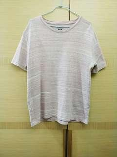 🚚 Inherit 男生粉紅色短袖T恤 M
