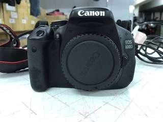 Canon 600D kit set 18-135mm