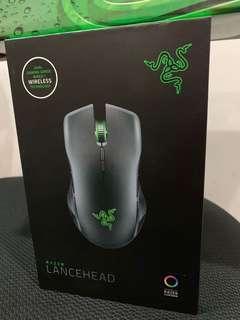 Razer Wireless Mouse Lancehead (Free Mouse Pad)