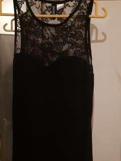 H&M Lace Midi Bodycon Dress.