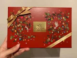 Godiva Chocolate Carré Collection 15pcs.