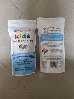 🚚 Westlab Kids dead sea bath salts