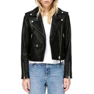 BRAND NEW - Mackage Leather Bays Jacket