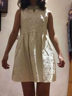 Dress murah nude