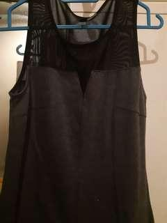 H&M Mesh Bodycon Dress.