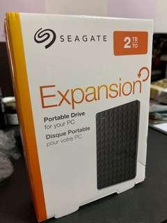 🚚 Seagate Hard Disk 2TB With 3 Years Warranty