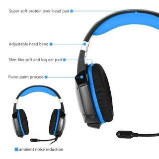 Online Gaming Headset With Microphone