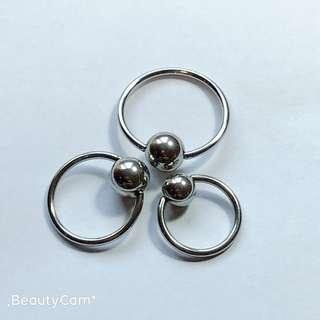 Body Piercing Jewellery Assorted Navel Belly 316L Surgical Stainless Steel Professional Quality Endorsed by Professional Piercers