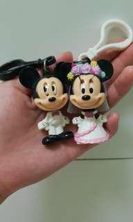 Mickey Minnie Keychain