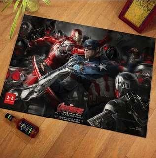 Marvel carpet