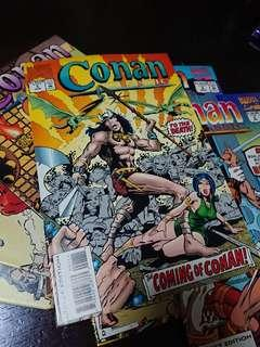 7 Conan Classics // Barry Smith run
