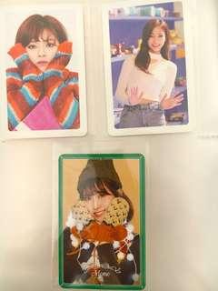 *PRICE LOWERED* TWICE MERRY & HAPPY PHOTOCARD