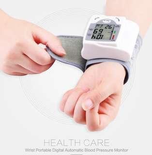 Wrist portable blood pressure monitor