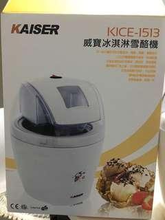 🚚 威寶冰淇淋雪酪機KICE-1513