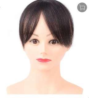 BN~True human hair / partial short wig