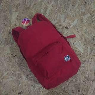 Herschel Settlement Red Backpack Original