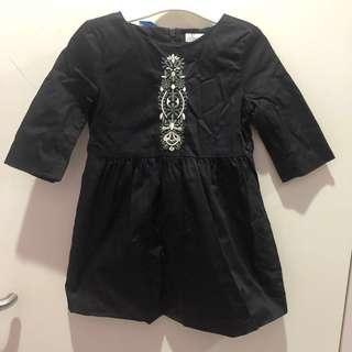 🚚 Poney black dress