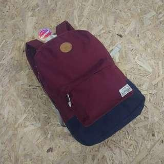 Quiksilver Maroon Ox Navy Backpack Original