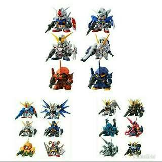 全新 全18種 未開 Fw SD Gundam 新世代 高達 NEO Part 01 & 02 & 03 食玩 盒扭蛋