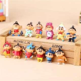 🚚 Crayon Shinchan Figurines
