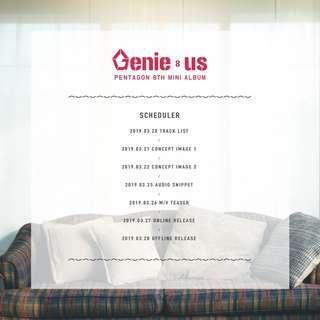 [ PRE-ORDER] PENTAGON 8TH MINI ALBUM <Genie:us>