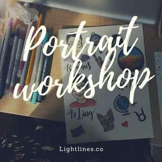 Introductory Portrait Illustration Workshop