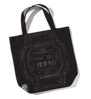 [In Stock] Japanese Magazine - Casio G-Shock Tote Bag