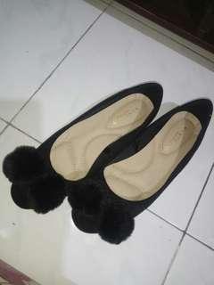 Vincci flatshoes pompom