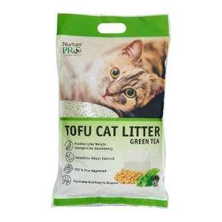 Brand New Nurture Pro Tofu Cat Litter 6L Green Tea
