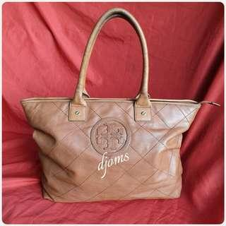 🛑Tory Burch Diamond Stitch Quilted Tote Bag