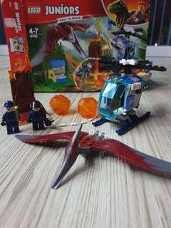 LEGO Junior Jurassic World Pteranodon Escape 10756