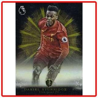 🚚 2016 Topps Premier Gold Daniel Sturridge Brilliance of the Pitch