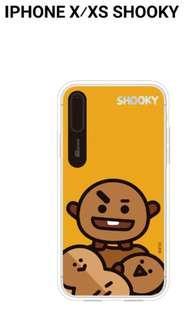 🚚 Quick preorder! Official bangtan boys bts bt21 iPhone phone case for xs x SHOOKY