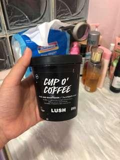 LUSH CUP O COFFEE FACE & BODY MASK