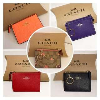 New! 🇺🇸 Coach ID Case + Key Ring in Signature Canvas  👩🏼👱🏻‍♀️👵🏼👩🏻‍🦱👛👜