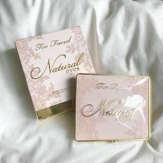 SALE! Too Faced Natural Eyes Palette