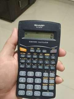 Kalkulator Scientific Sharp EL-501W