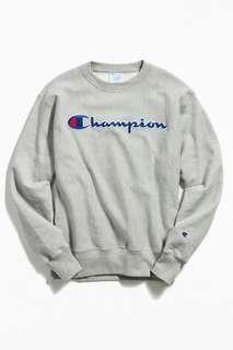 Champion crewneck sweatshirt 100% original