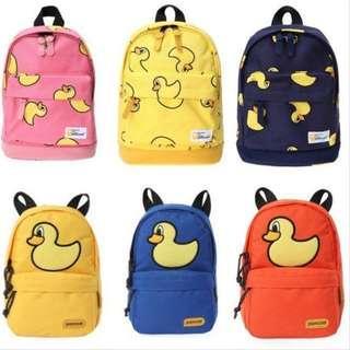 🚚 Pancoat Duck print bag pack. Super famous brand in S.Korea!