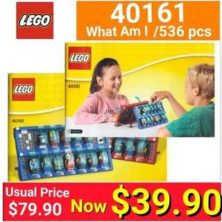 LEGO 40161 What Am I?  536 pieces (Brand new in box and Sealed)