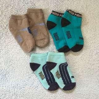 Authentic Puma Socks (12-18mos)