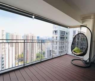 High floor, bright and windy flat for rent! Near MRT!