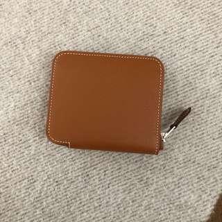 Hermes compact silk in wallet