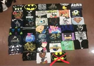 Combo Tshirt Kartun