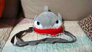 鯊魚毛毛斜揹袋 / 斜挎包