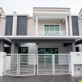 New 22x75 Freehold Double Storey Superlink For Sale, Bangi.